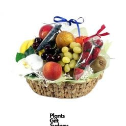 This basket of fruit and berries is a thoughtful choice