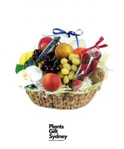 Basket Of Fresh & Healthy Fruit & Berries