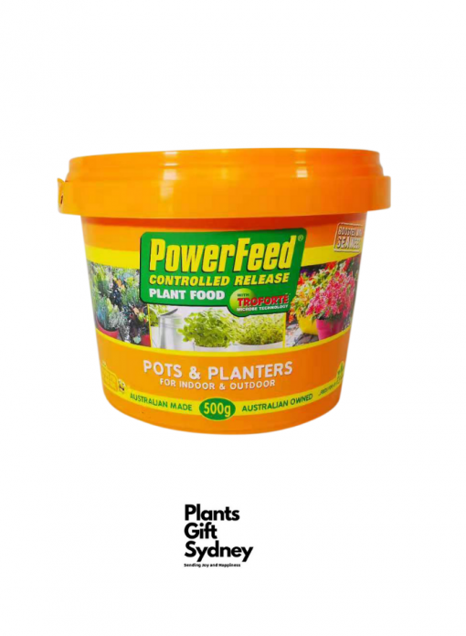 Power Feed Controlled Release Plant Food